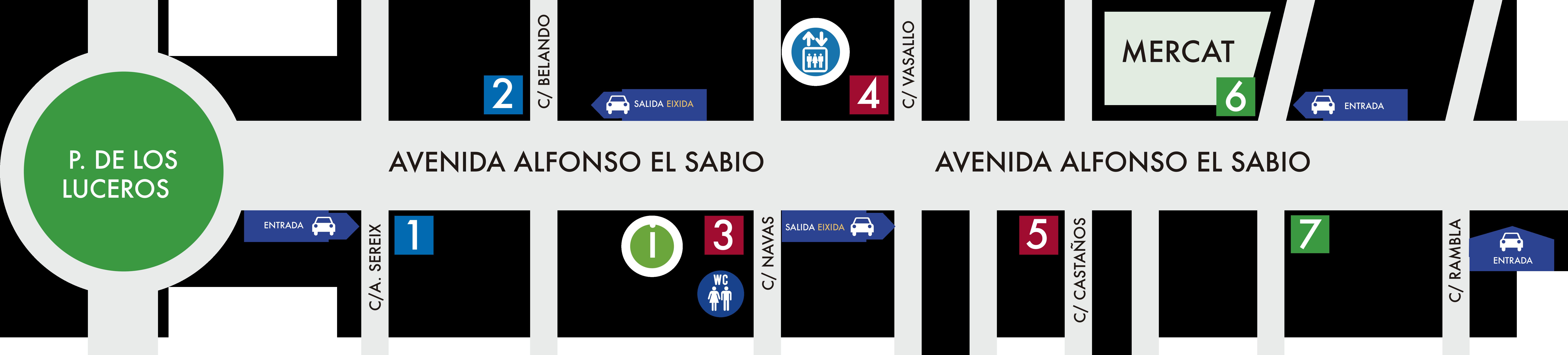 mapa asabio